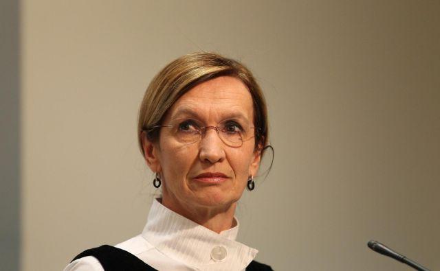 Vrhovna državna tožilka Barbara Brezigar FOTO: Tomi Lombar/Delo