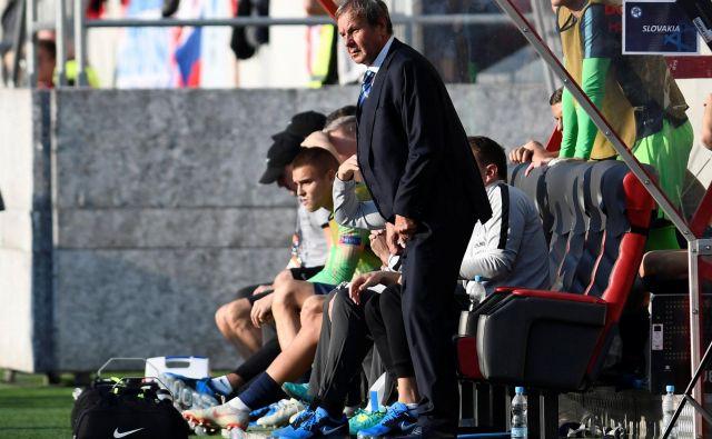 Jan Kozak je v soboto zadnjič vodil slovaško nogometno reprezentanco.<br /> FOTO Reuters