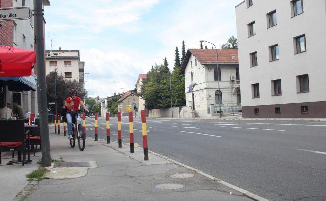Drenikova ulica v Ljubljani FOTO: Mavric Pivk/Delo