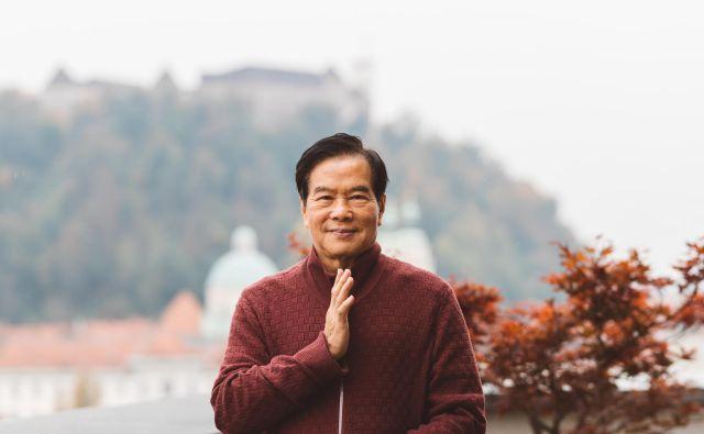Mantak Chia velja za največjega živečega mojstra taoizma, FOTO: Nino Verdnik/Akademija za ženske