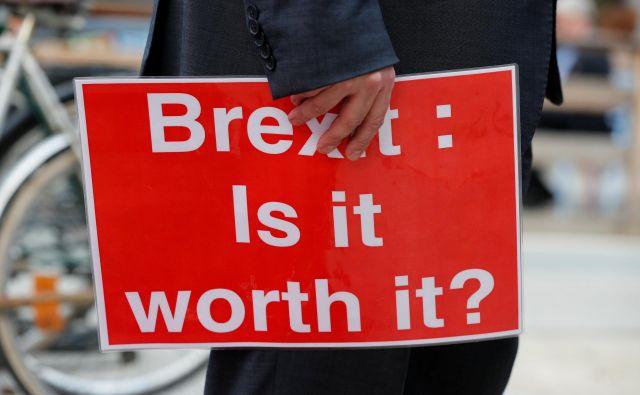 Brexit: Ali je vredno? FOTO: Reuters