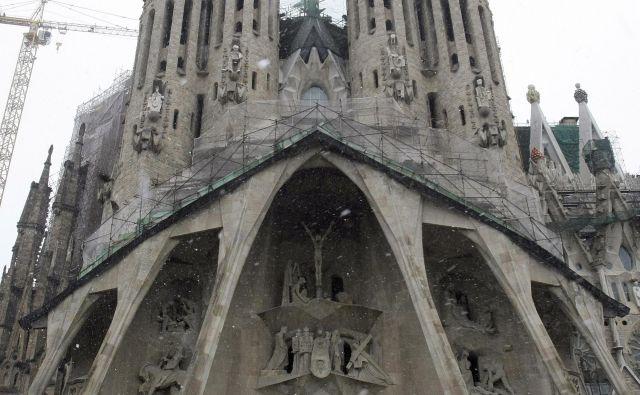 Sagrada Familia - gradijo jo že od leta 1882. FOTO: Reuters