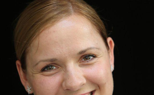 Polona Kovač,podpredsednica društva Ključ, pravi, da glede na njihove izušnjeločnice med erotično masažo in prostitucijo pravzaprav ni.FOTO: Tomi Lombar/Delo
