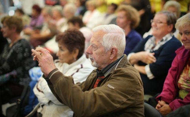 V Sloveniji se uspešno staramo, ampak vprašanje je, kako sledimo svoji dolgoživosti. Foto Jure Eržen