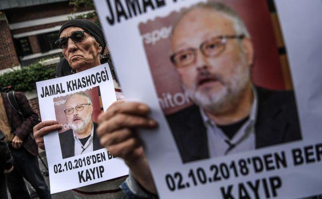 Kje je truplo Džamala Hašodžija? FOTO: AFP