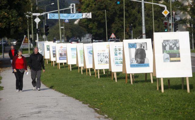 Na lokalnih volitvah 18. novembra bodo volivci na listah za občinski svet lahko izbirali med več znanimi obrazi. FOTO: Mavric Pivk/Delo