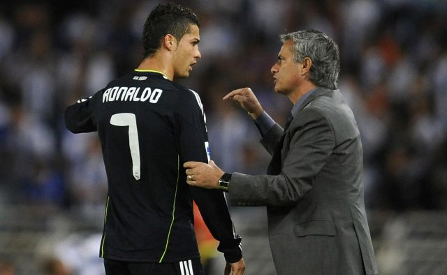 Cristiano Ronaldo in Jose Mourinho sta med letoma 2010 in 2013 sodelovala v madridskem Realu.