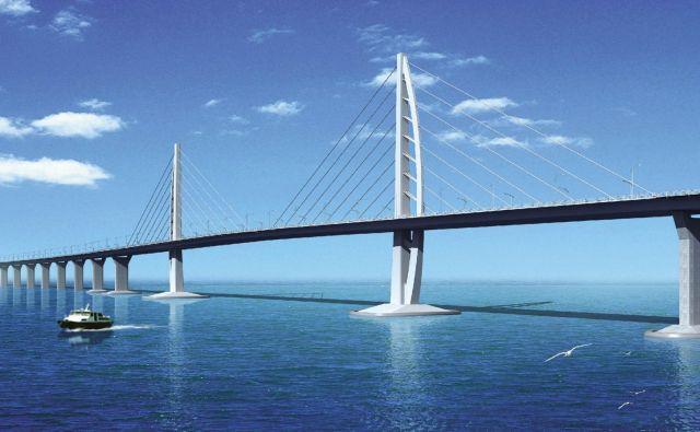 Most simbolizira preobrat v odnosih med Pekingom, Hongkongom in Macaom. FOTO: Wikipedija