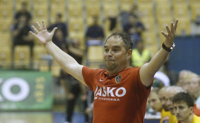 Branko Tamše je s Celjem osvojil pet naslovov državnega prvaka, na začetku sezone pa ga je pričakala odpoved. FOTO: Blaž Samec