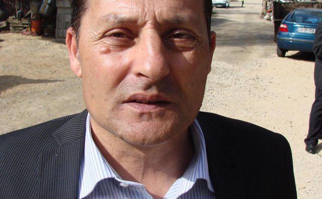 Darko Rudaš, predsednik Foruma romskih svetnikov in romski svetnik v občini Murska Sobota. FOTO: Bojan Rajšek/Delo