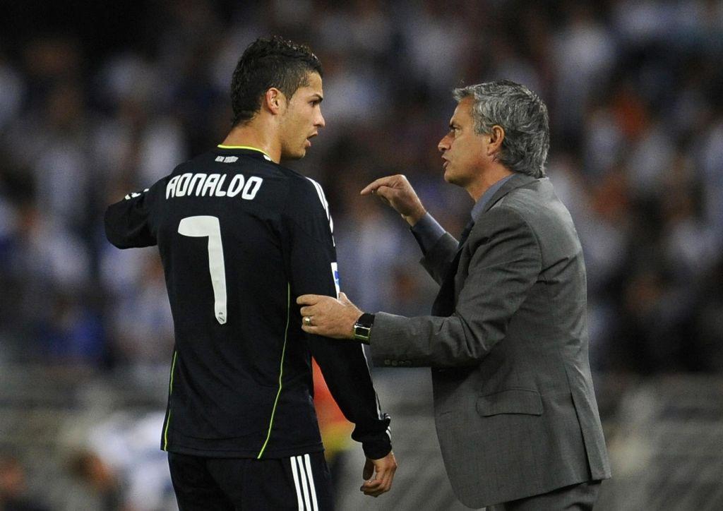 FOTO:Mourinho vs Ronaldo: Nekoč partnerja, nikdar prava prijatelja