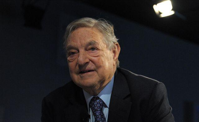 George Soros FOTO: AFP