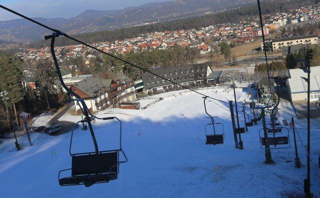 Na seznamu manj znanih smučišč v Evropi je tudi Mariborsko Pohorje – če je le sneg. FOTO: Tadej Regent