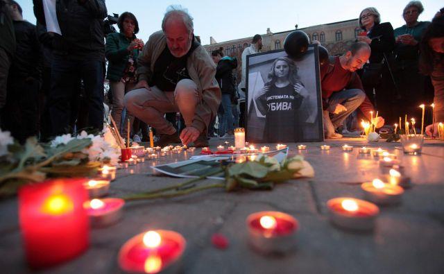 Tridesetletno televizijsko voditeljico Viktorijo Marinovo je v Ruseju ubil 21-letni Severin Krasimirov. Foto: Reuters