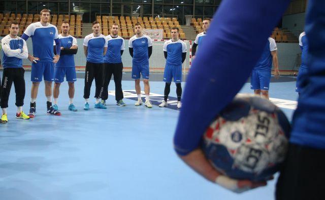 Slovenci začenjajo pot proti evropskemu prvenstvu. FOTO: Tadej Regent