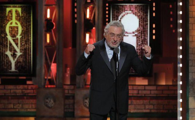 Robert De Niro je glasen nasprotnik aktualnega predsednika ZDA. FOTO: Reuters