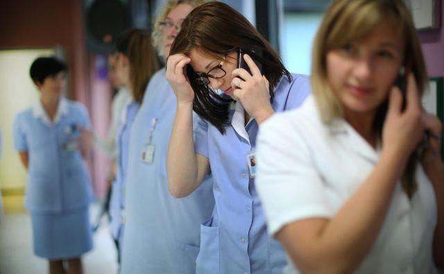 Najmanj medicinskih sester imajo na Gorenjskem. FOTO Jure Eržen/Delo