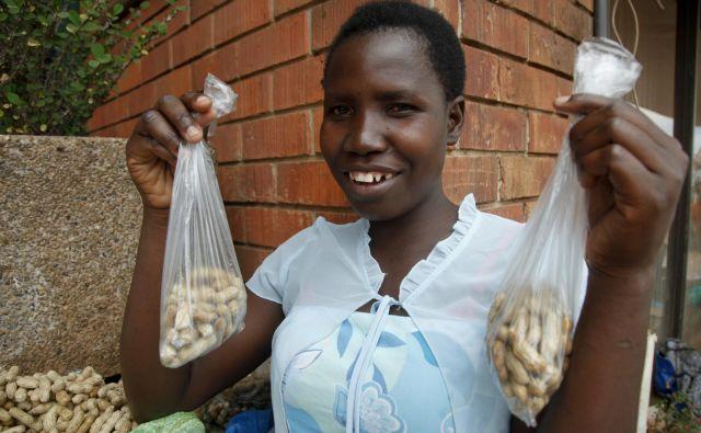 Irene Atenyo iz Ugande deli usodo milijonov žensk, ki so ujete v tradicionalno poligamijo. FOTO AP