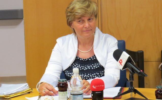 Anica Užmah, nova direktorica ptujske bolnišnice, mora začeti priprave na urgenco od začetka. FOTO: Franc Milošič