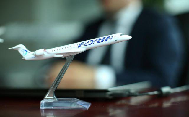 »Naši načrti s slovenskim letalskim prevoznikom so dolgoročni,« je pojasnil prvi mož Adrie Kowarsch.FOTO: Jure Eržen/Delo