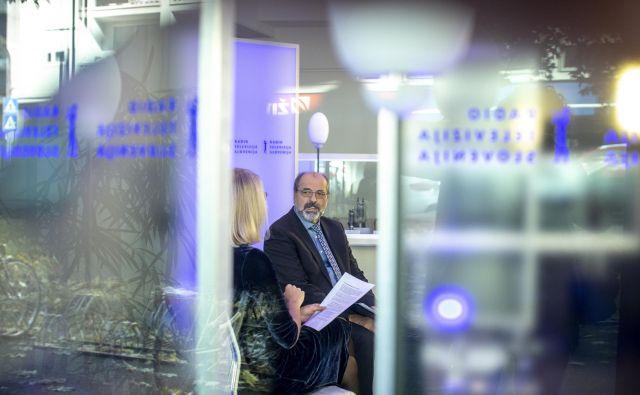 Direktor RTVS Igor Kadunc: Družba bo morala razmisliti, kaj pričakuje od javnega servisa. FOTO: Voranc Vogel/Delo