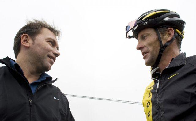 Johana Bruyneela je doletela enaka kazen kot Lancea Armstronga. FOTO: Arturo Rodriguez/AP