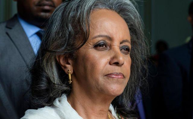 Sahle-Work Zewde je prva predsednica Etiopije. Foto AFP
