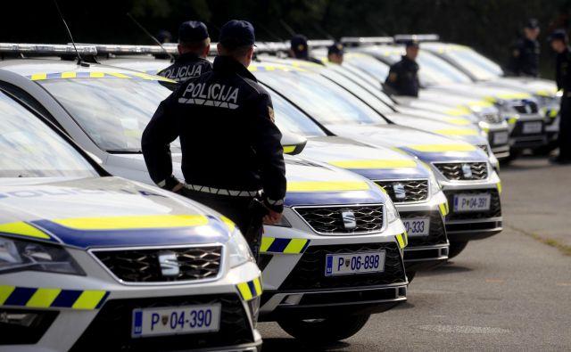 Pri zasedi takratnega ministra za javno upravo Borisa Koprivnikarja je sodelovalo sedem policistov (fotografija je simbolična). Foto: Roman Š�ipić