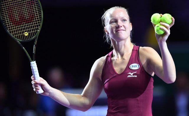 Kiki Bertens je priložnost na mastersu dobila šele po odpovedi Simone Halep. FOTO: AFP
