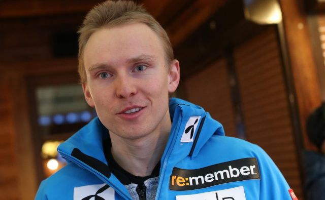 Henrik Kristoffersen je bil v minuli sezoni drugi v slalomskem, veleslalomskem in skupnem seštevku, na OI pa srebrn v veleslalomu. Povsod ga je prehitel le Marcel Hirscher. FOTO: Tomi Lombar/Delo