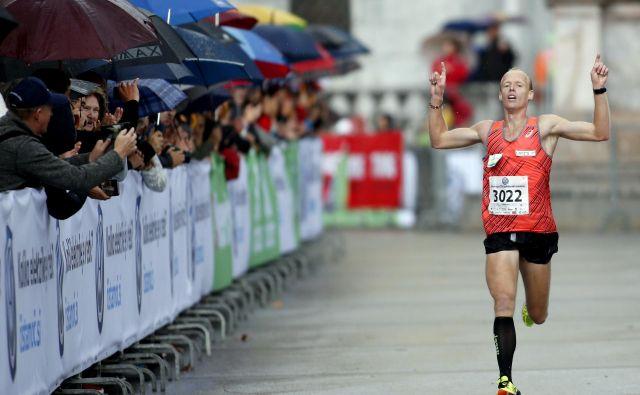 Drugi najhitrejši Slovenec vseh časov na 1500 metrov je atletsko stezo pred leti zamenjal za cesto. FOTO: Roman Šipić
