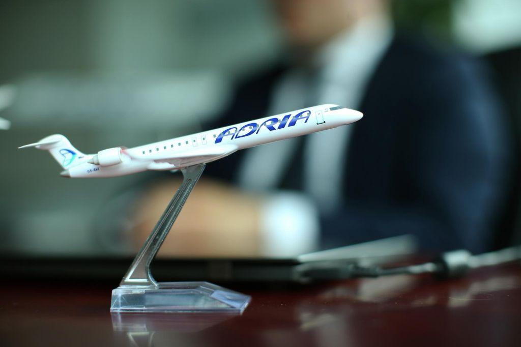 Adria Airways za več kot deset milijonov povečala osnovni kapital