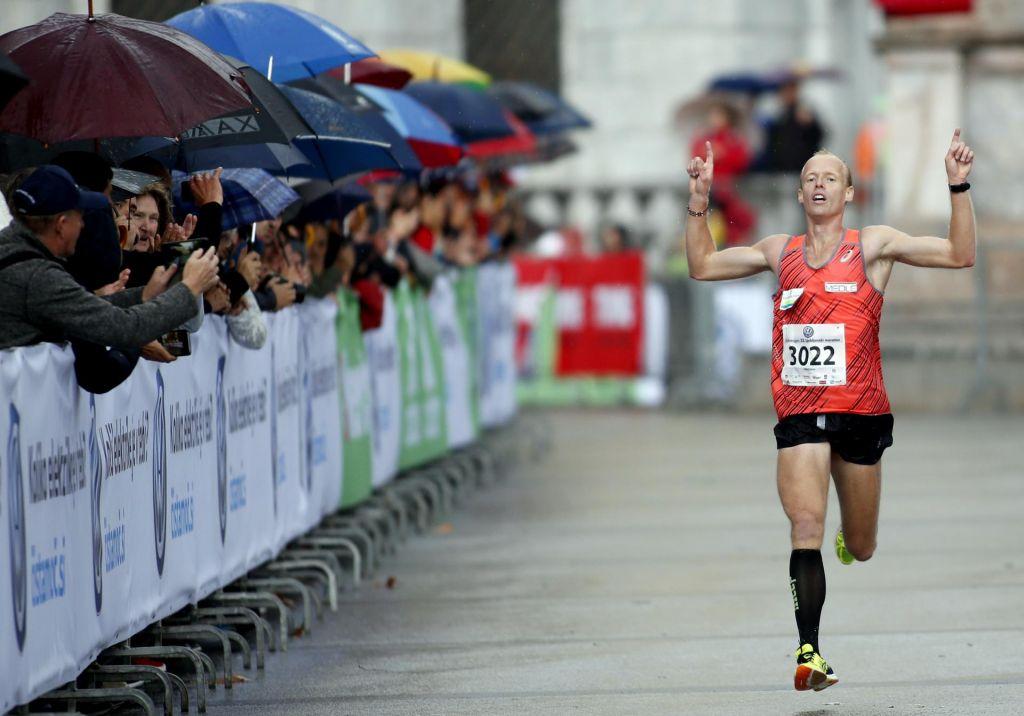 Lani državni prvak v maratonu, letos drugi na pol krajši razdalji