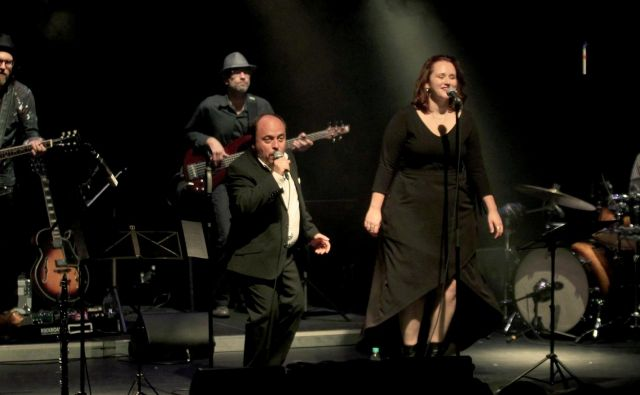 Koncert skupine SLO blues v SiTi Teatru.<br /> FOTO: Roman Šipić