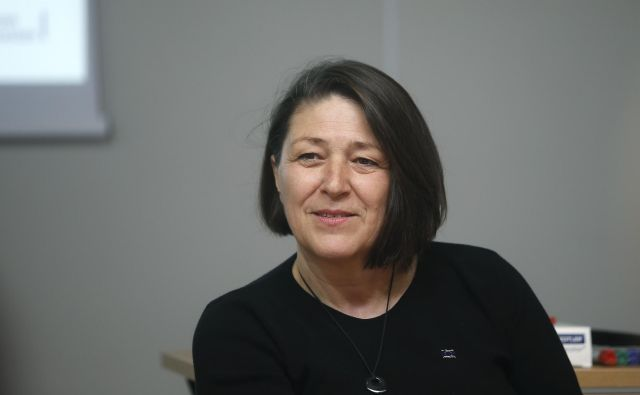 Za vpliv na evropsko politiko in uspešne projekte je treba sodelovati od začetka, pravi komisarka Violeta Bulc. FOTO: Blaž Samec/Delo