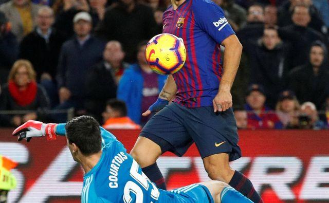 Luis Suarez je od leta 2014 Realu zabil že 9 golov, več kot kdorkoli drug v tem obdobju. FOTO: Reuters