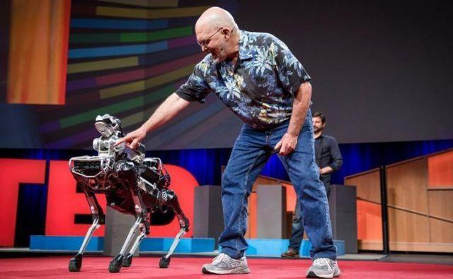 robotski ljubljenček Foto Bostondynamics