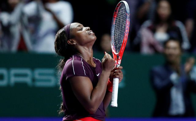 Sloane Stephens je v polfinalu odpravila Karolino Pliškovo. FOTO: Reuters