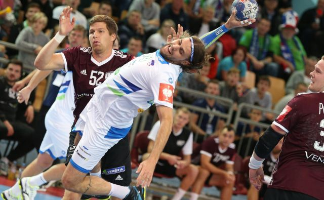 Slovenci tudi na drugi tekmi niso imeli težav. FOTO: Tadej Regent/Delo