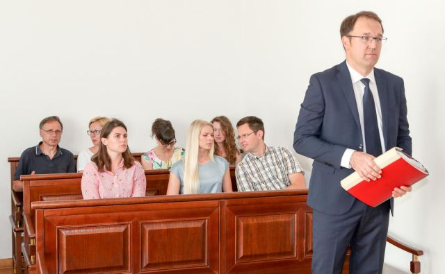 Sojenje Birtič Damjanu za malomarno zdravljenje pacienta se je nadaljevalo. FOTO: Marko Feist