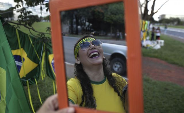 »V brazilski mentaliteti je, da ne zna zmagovati brez ponižanja poražencev.«FOTO: Eraldo Peres/Ap
