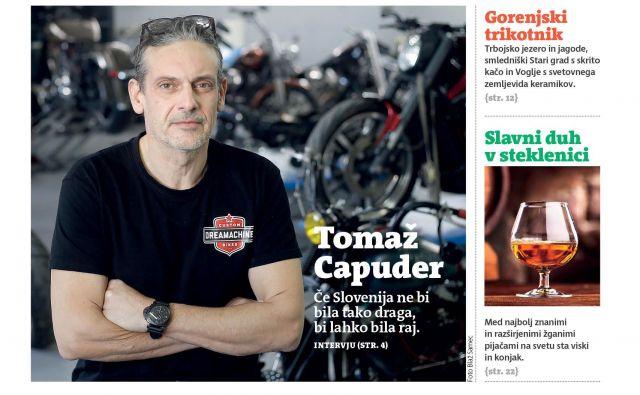 S Tomažem Capudrom o predelovanju motociklov.