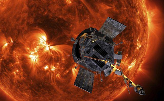 Sonda se bo na koncu Soncu približala na vsega 6,2 milijonov kilometrov. FOTO: AP