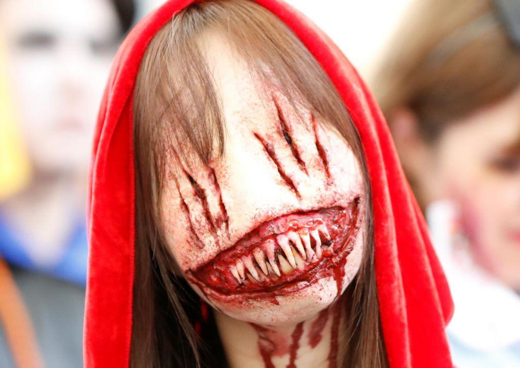FOTO:Grozljiva ideja za noč čarovnic