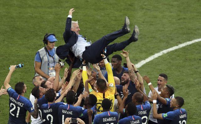 Spomini na letošnje zmagoslavje Francozov na SP so še sveži. FOTO: AP