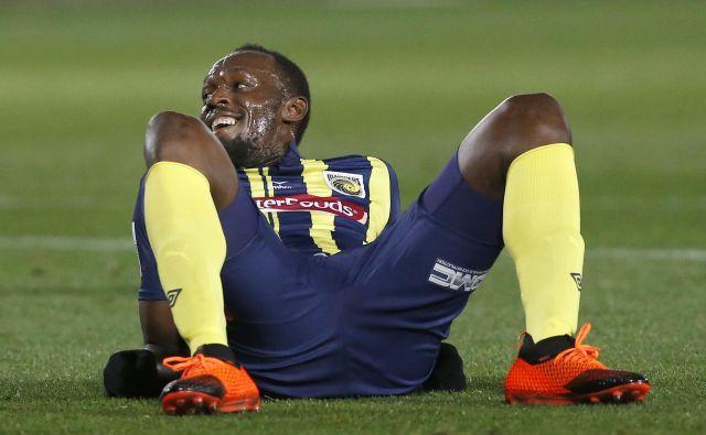 Usain Bolt bo nogometni izziv poiskal drugje. FOTO: Steve Christo/AP