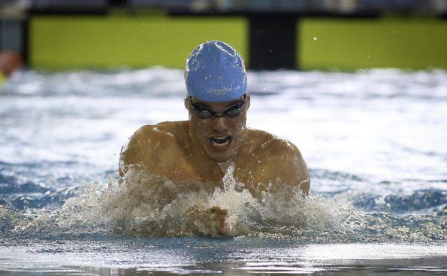 Peter John Stevens je bil v kvalifikacijah hitrejši kot v finalu. FOTO: Jože Suhadolnik/Delo
