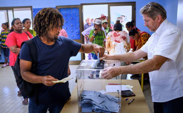 Referendum je zaznamovala visoka volilna udeležba. FOTO: Theo Rouby/AFP