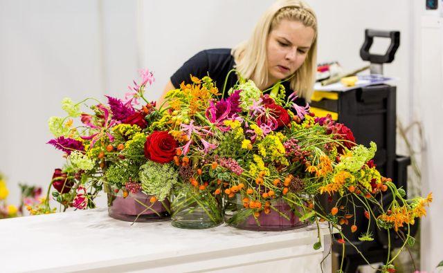 Brigita Klinar na letošnjem tekmovanju Euroskills. FOTO: Roland Szadai, Euroskills