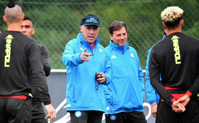 Napolijev trener Carlo Ancelotti je pred leti gradil prav moštvo drevišnjega tekmeca PSG.